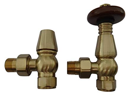 Traditional Brass Towel Rail Valve