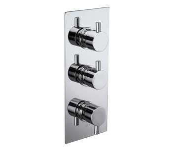 Triple Concealed Shower Valve
