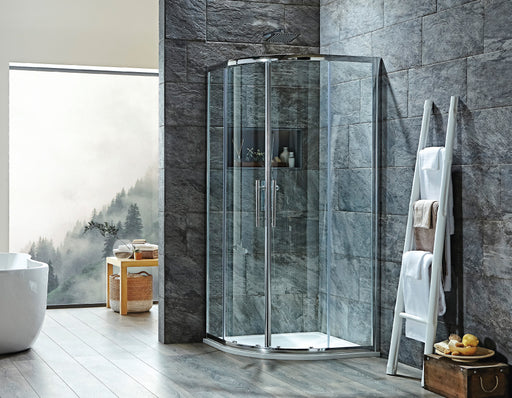 Offset Double Door Quadrant i8 Shower Enclosure