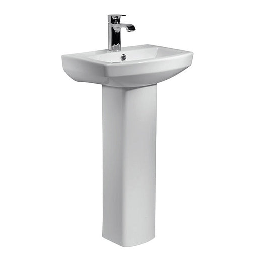 Aspect 1TH 460mm Basin & Pedestal