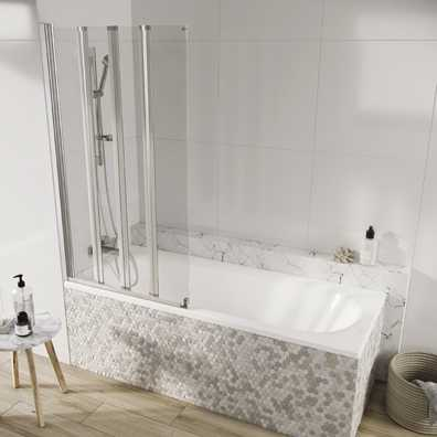 Acqua Arm Bath 4 Panel 1500x800mm