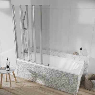 Acqua Arm Bath 5 Panel 1500x1000mm
