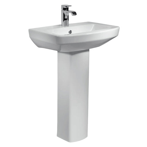 Aspect 1TH 550mm Basin & Pedestal