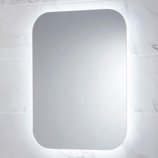 Aura LED Mirror with Demister & Shaver Socket