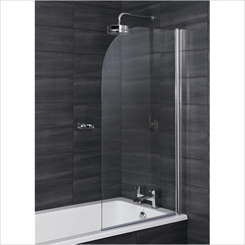 i6 Radius Edge 6mm Thick Bath Screen 1400x800mm