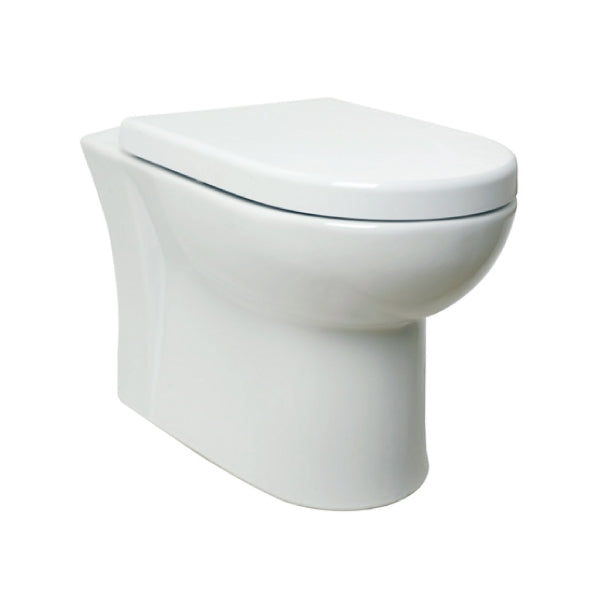 Ratio Back to Wall WC Pan & Premium Soft Close Seat
