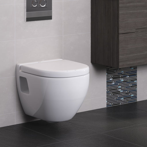 Metro-K Wall Hung WC Pan With Soft Close Seat