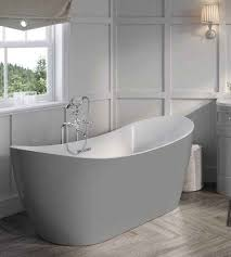 Harrogate Collection Arruba Freestanding Bath - Dovetail Grey
