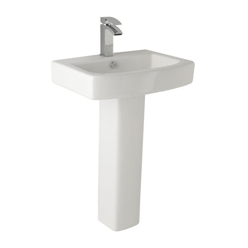 Embrace 1TH 560mm Basin & Pedestal