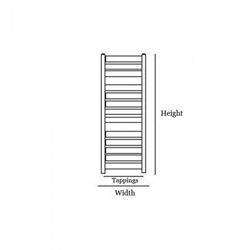 Newark Heated Design Towel Rail