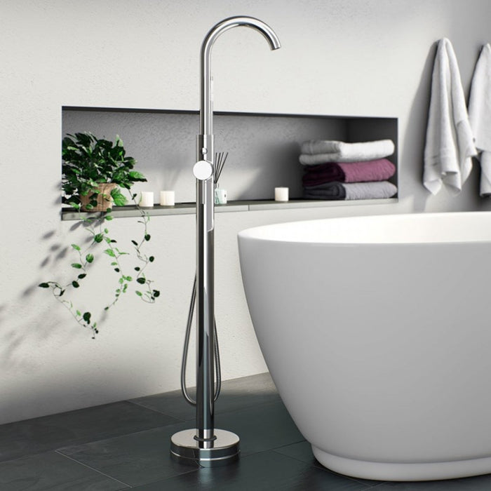 Free Standing Bath Shower Mixer TAP017PL