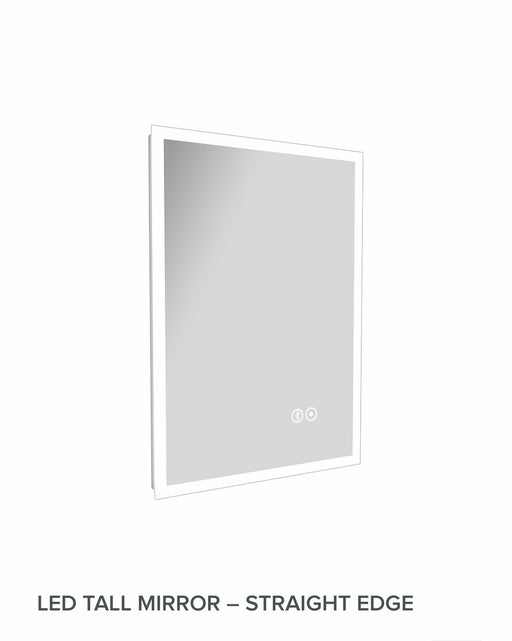 Mirror , LED Bluetooth with demister pad