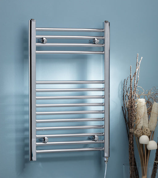 Curved Electric Towel Rail Thermostatic