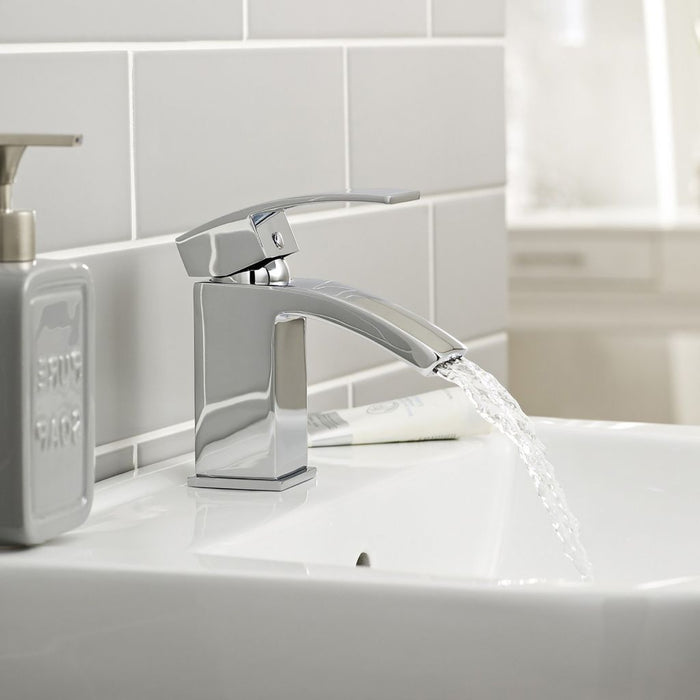 Flair Mono Basin Mixer With Click Waste TAP001FL