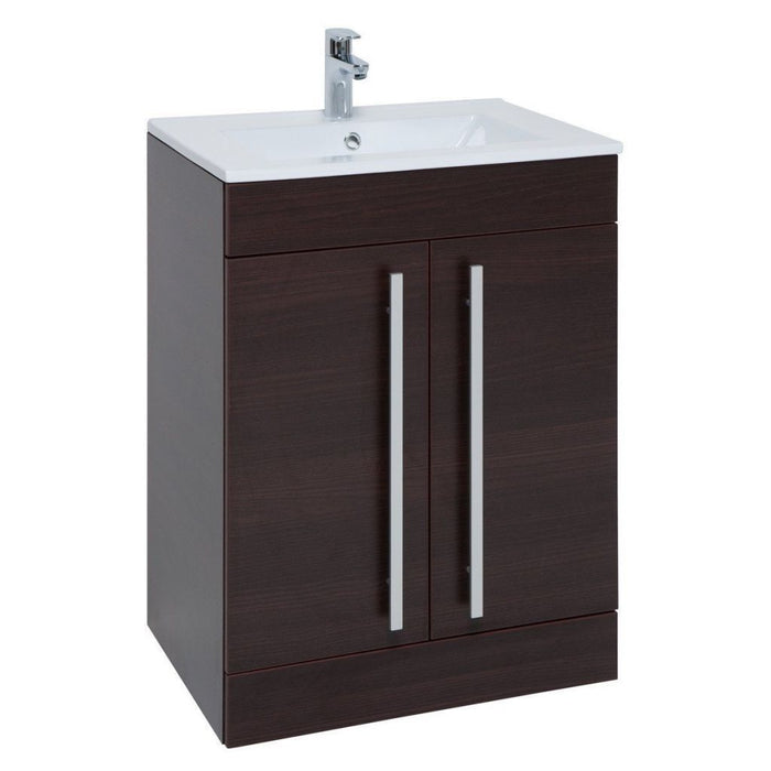 Purity Floor Standing 2 Door Unit & Ceramic Basin