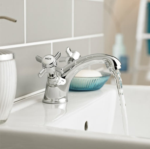 Klassique Mono Basin Mixer With Click Waste TAP100KL