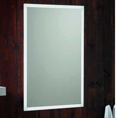 Mosca Bluetooth LED Mirror with Demister & Shave Socket 500x700mm