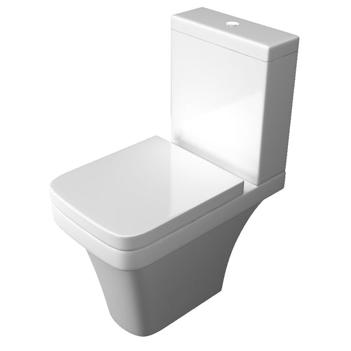 Sicily Close Coupled WC Pan With Cistern And Seat