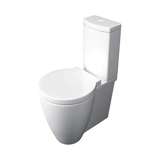 Milano Close Coupled WC Pan Cistern and Soft Close Seat