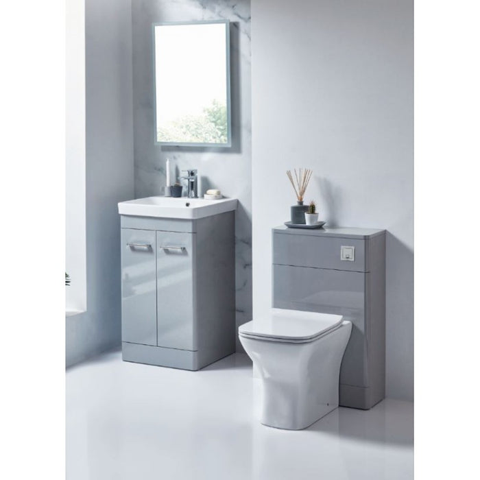 Rossini Floor Standing Vanity Unit - Pebble Grey
