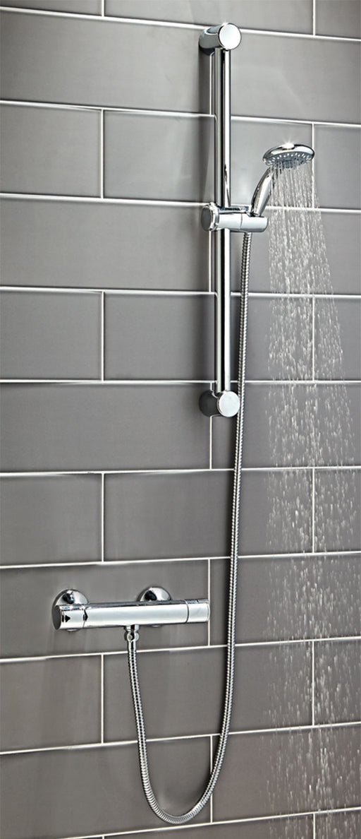 Round Thermostatic Shower Set One