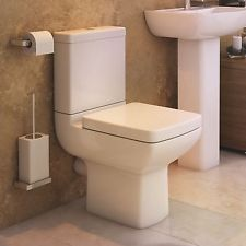 Aspect Close to Wall Toilet Pan, Cistern & Soft Close Seat
