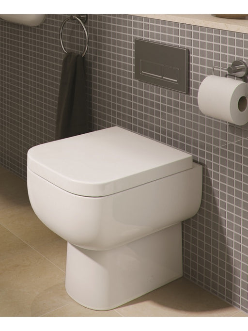 Korsika Back to Wall Pan with Soft Close Seat