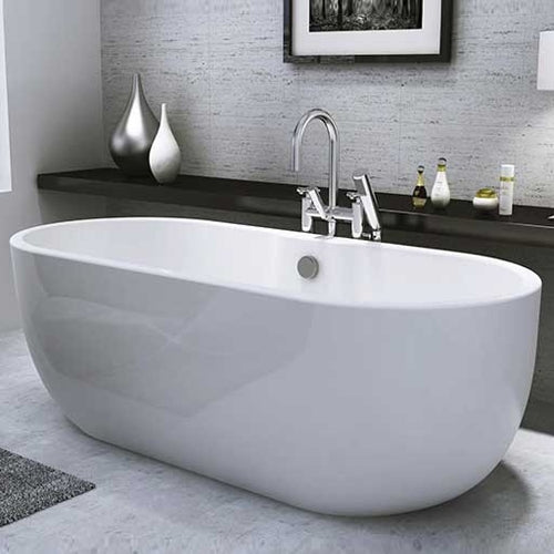 San Marlo Freestanding Bath - White