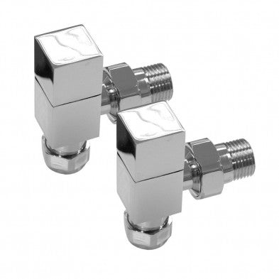 Square Towel Rail Valves