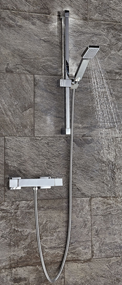 Square Thermostatic Shower Set 2