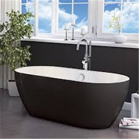 San Marlo Freestanding Bath - Matt Black