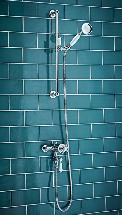 Traditional Thermostatic Shower Set Two