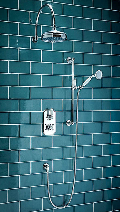 Traditional Thermostatic Shower Set Three