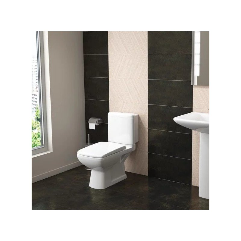Elizabeth WC Pan, Cistern and Soft Close Seat