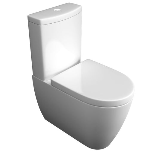 Genoa Close Coupled WC Pan Cistern and Soft Close Seat