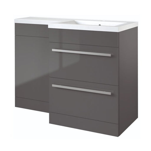 Matrix 2 Drawer L-Shaped Furniture Pack 1100mm