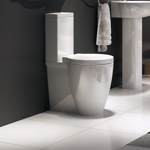 Milano Back To Wall WC Pan and Soft Close Seat