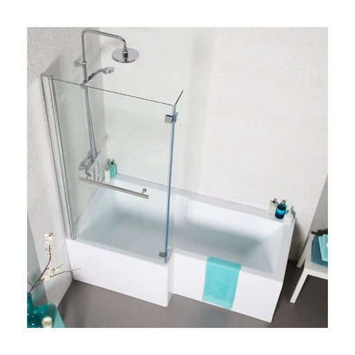 Tetris Square Shaped Shower Bath 1500 X 850mm Left Hand