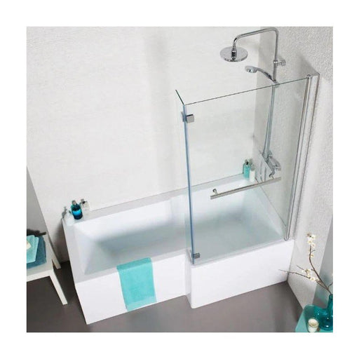 Tetris Square Shaped Shower Bath 1700 X 850mm Right Hand
