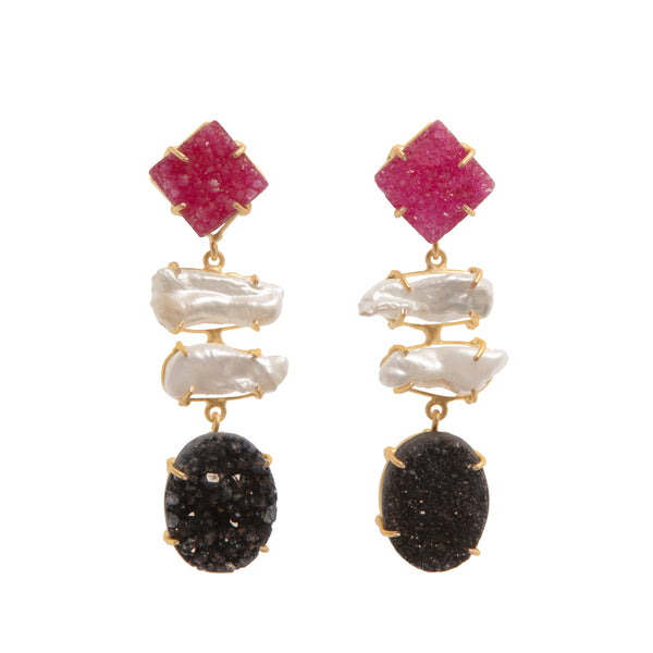 MONROE EARRINGS - VESCOVI