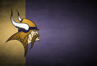 Minnesota Vikings Face Diamond Painting Kit - DIY