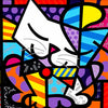 Color Abstract Cat Diamond Painting Kit - DIY