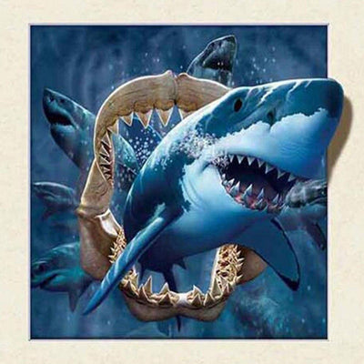 Shark Animal Diamond Painting Kit - DIY
