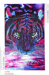 Special Shape Animal Tiger Diamond Painting Kit - DIY