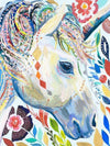 Watercolor Unicorn Diamond Painting Kit - DIY