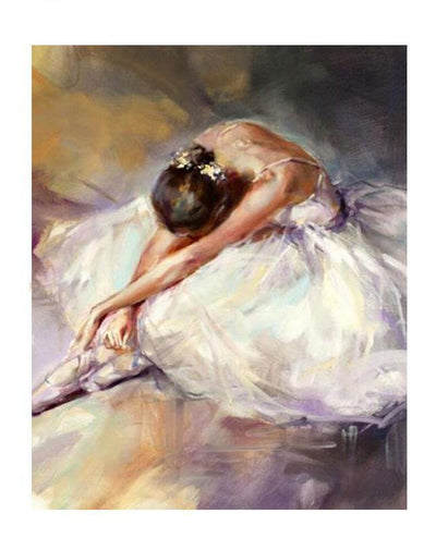 Ballet Dancer Diamond Painting Kit - DIY