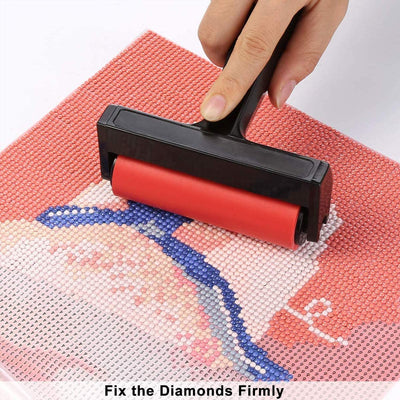 Roller Diamond Painting 5D DIY – Fast and Smooth Pressing Accessories Tools for Diamond Painting Rhinestone Embroidery