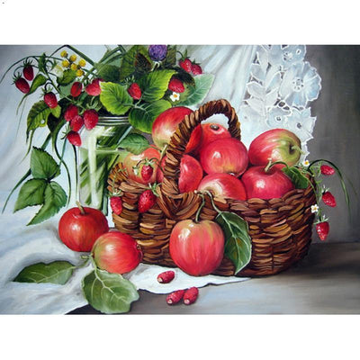 Still Life Of Apple Diamond Painting Kit - DIY