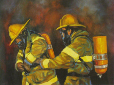 5d Fireman Firefighter Diamond Painting Kit Premium-8