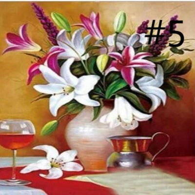 Flower Diamond Painting Kit - DIY Flower-6